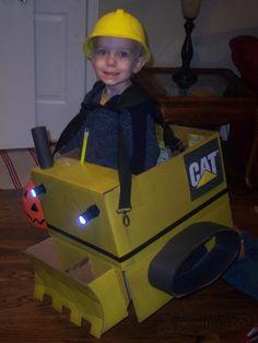 Excavator Halloween Costume