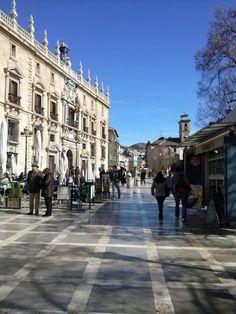 Plaza Nueva en Granada, Andalucía Parada 1