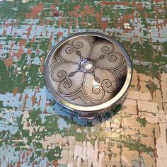 Brighton pill holder Brighton pill holder. 2 inches in diameter. Brighton Accessories