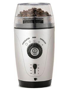 Hamilton Beach 80365 Custom Grind Hands-Free Coffee Grinder | Brazil Coffee Facts