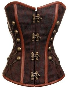 Steampunk Nautilus Corset. This is hot. I'm thinking you could make this from another garmet. Love that steampunk!