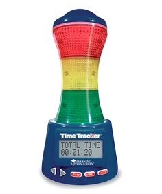 Time Tracker Visual Timer/Clock- I just bought one of these, and wish I'd made the purchase a long time ago!