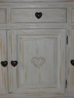 Best Patiner Peindre Meuble Etc Images On Pinterest Painted - Decaper un meuble en bois peint