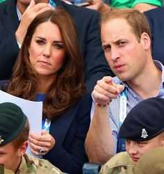 The Duke and Duchess of Cambridge and Prince Harry spent the day in Glasgow supporting the Commonwealth Games. 7/29/2014
