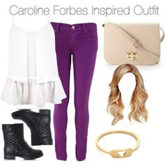 The Vampire Diaries - Caroline Forbes Inspired Outfit