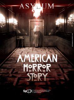 American Horror Story - Asylum Fan Art (Design by: Spot Séries TV) http://spotseriestv.blogspot.com.br/search/label/American%20Horror%20Story