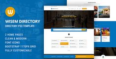 cool Wisem - Directory PSD