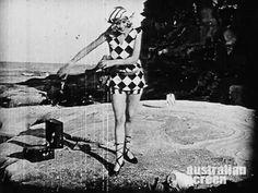"littlehorrorshop: "" Charleston on the beach in Australian silent film Those Who Love, 1926 """