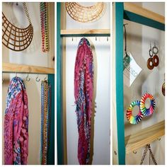 Colgador de aros y collares www.delineadisenos.cl