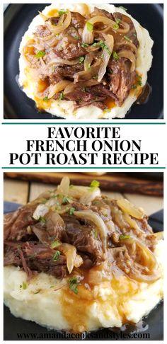 Favorite French Onion Pot Roast