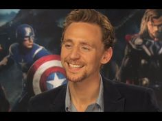 Tom Hiddleston (so you are the nicest guy in the Universe?)  If you don't absolutely adore Hiddleston yet, you will after this video!