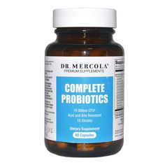 Mercola - Complete Probiotics, 70 billion cfu, 60 capsules *** More info could be found at the image url. (This is an affiliate link) #DogLovers