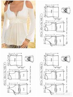 Lace patterned Deniz by kari Diy Clothing, Clothing Patterns, Dress Patterns, Fashion Sewing, Diy Fashion, Sewing Blouses, Make Your Own Clothes, Easy Sewing Patterns, Sewing Tutorials