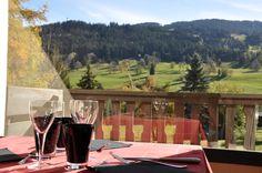 Salle de restaurant vue Mont-Blanc