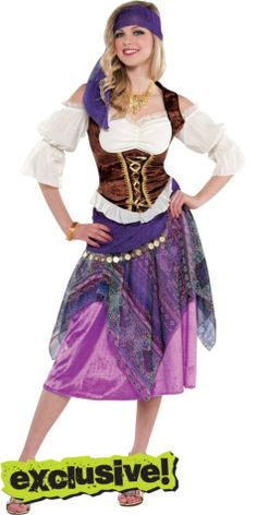 Adult Sexy Fortune Teller Costume - Party City