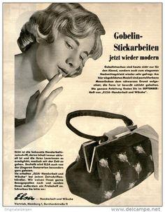Original-Werbung/Inserat/ Anzeige 1959 - 1/1 SEITE/GROSSFORMAT ELSA HANDARBEIT UND WÄSCHE - HAMBURG  - ca. 240 x 320 mm
