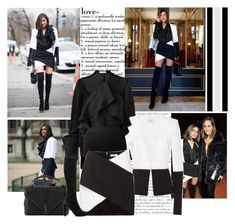 """""""2016 Paris Fashion Week: Mugler S/S 2017 Presentation~ Olivia Culpo"""" by snugget9530 ❤ liked on Polyvore featuring Thierry Mugler, Magda Butrym, Yves Saint Laurent and Stuart Weitzman"""