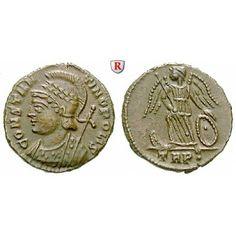 Römische Kaiserzeit, Constantinus I., Follis 332-333, ss-vz: Constantinus I. 307-337. AE-Follis 332-333 Trier. Gepanzerte Büste der… #coins