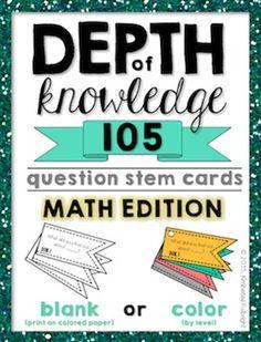 105 DOK Questions for Matj