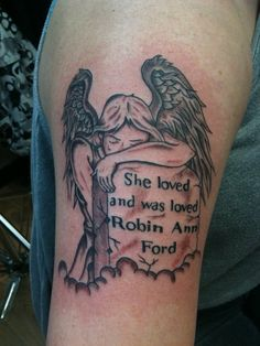 In memory of my mema Rip Tattoos For Mom, In Loving Memory Tattoos, Grandma Tattoos, Daddy Tattoos, Brother Tattoos, Tattoo For Son, Family Tattoos, Half Sleeve Tattoo Stencils, Skull Sleeve Tattoos