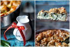 Točená Banica se špenátem – PĚKNĚ VYPEČENÝ BLOG Bulgarian Recipes, Bulgarian Food, Risotto, Treats, Breakfast, Ethnic Recipes, Blog, Sweet Like Candy, Morning Coffee