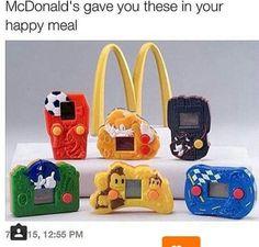 Childhood Memories 90s, Childhood Toys, Mcdonalds Toys, Back In The 90s, Good Ol, Cool Toys, Disney, Memes, 90s Kids Toys