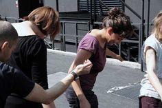 performance SENS come una danza