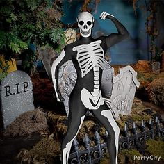 This Skeleton Morphsuit is perfect for Halloween! Skip the messy makeup or extra props to carry :) Witch Doctor Costume, Halloween Party, Halloween Costumes, Costume Ideas, Perfect Party, Adult Costumes, Fantasy Art, Funny Bones