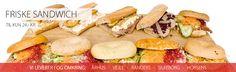 Sandwich ud af huset - Se stort udvalg mange varianter se her Team Uniforms, Frisk, Circuit, Sandwiches, Ads, Facebook, Ethnic Recipes, Sports, Sport