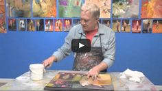BobBlast #72 How to Use a Canvas and Glue to Mount a Painting