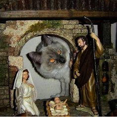 And Then The Little Baby Jesus Was Carried Off By The Catosaurus. The End