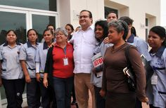 Al saludar al personal, Javier Duarte especificó que este hospital atenderá a la población de Jamapa, Manlio Fabio Altamirano, Medellín, Alvarado, Soledad de Doblado, Cotaxtla y Boca del Río.