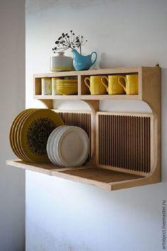 Купить Полки для посуды - коричневый, Заготовки из фанеры, заготовки из сосны, мебельные заготовки, заготовки для творчества