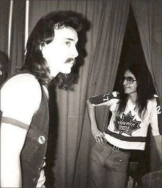 Neil and Geddy Forget the hair.  It's all about the jeans.