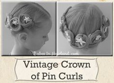 Pincurls Crown Hairstyle and 22 other holiday #hairstyle ideas