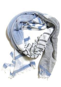 summer beach house scarf