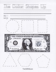 Classroom Freebies: The Dollar Shapes Up
