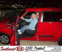 Happy Anniversary to Paula Mcknight on your 2013 #Kia #Soul from Danny Sparks and everyone at Southwest Kia Dallas! #Anniversary
