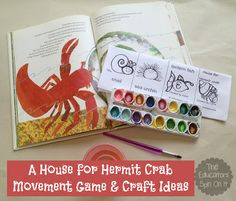 The Educators' Spin On It: A House for Hermit Crab Activities {VBC Summer Camp}