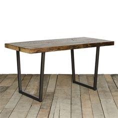Brooklyn Modern Rustic Reclaimed Wood Dining Table