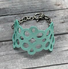 DIY Leather Cuff Bracelet - Cricut Secret Santa Project