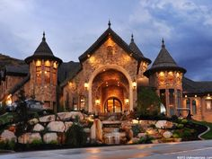 Love this! Reminds me of a castle