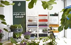 Aarstiderne Pop up shop in Normann Copenhagen flagship store