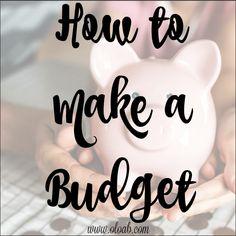 How to Make a Budget Life On A Budget, Making A Budget, Finance Organization, Piggy Bank, Budgeting, Money, How To Make, Money Bank, Financial Organization