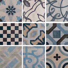 Fioranese Cementine 20 IND20R_Colors , Кухня, Ванная, стиль Пэчворк, PEI IV, Керамогранит, универсальная,…