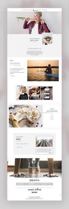 17 Inspiring Websites Built with Divi Simple Web Design, Web Design Tips, Web Design Services, Design Strategy, Blog Design, Page Design, Blog Website Design, Design Ideas, Website Layout