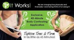 are You ready to get RESULTS? Treat yourself to a body wrap. Pick a Target area, place the body Wrap & wear the Wrap for  45 mins. get Results Today www.robingskinnywraps.myitworks.com