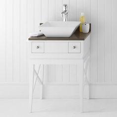 Ronbow 057223-W01 Angelica 23 in. Single Bathroom Vanity