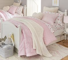 Catalina Bed | Pottery Barn Kids. Just bought this bed for Alba's new room! Now we get to shop for a new bedspread