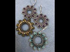 Sunflowers Earrings - YouTube
